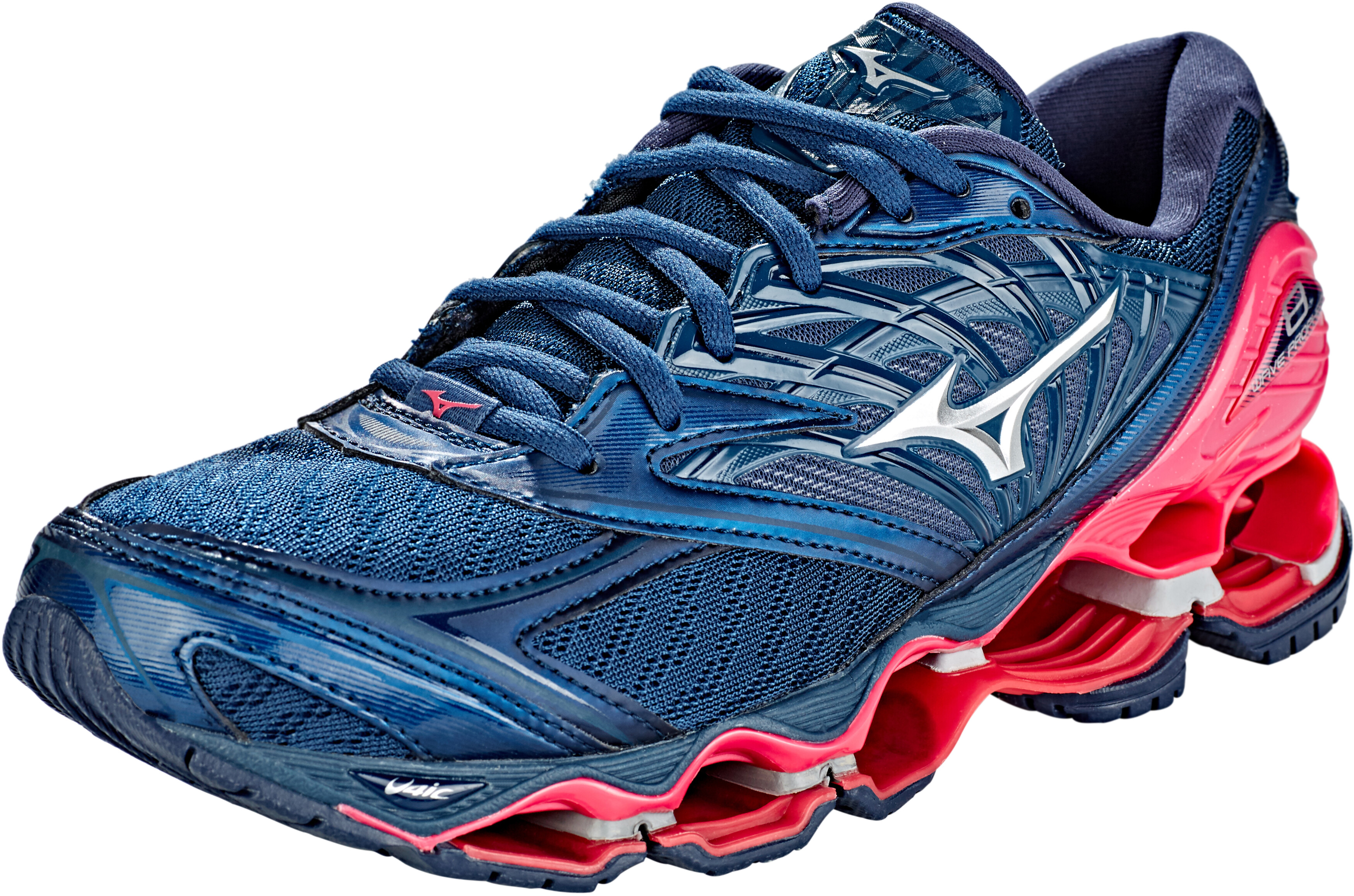 more photos 8b60d c784a Mizuno Wave Prophecy 8 Shoes Women blue wing teal/silver/honeysuckle